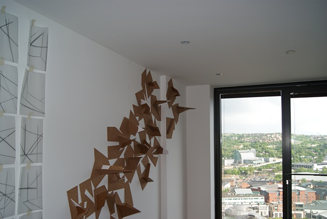 Corkscape  (installation view)
