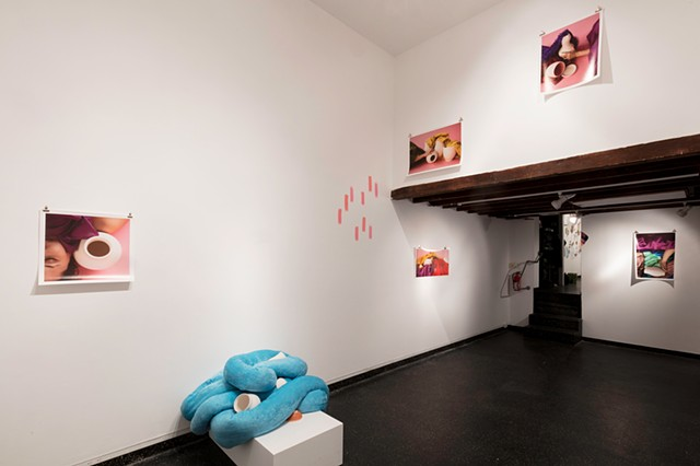 HEAVY SHINE (installation view)