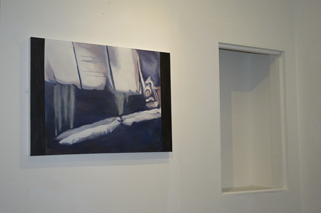 The Restless Image Sophie Goddard Bank Street Arts Sheffield 2012 artist painting