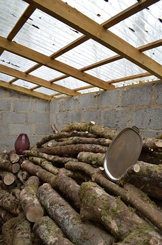 Robyn LeRoy-Evans photography artist 'Home' objects body rural Wales