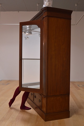 Robyn LeRoy-Evans photography artist 2012 SIA Gallery Residency 'Wardrobe/Wine Tights'