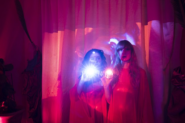 Forbidden Foods, The Crystal Efemmes, Robyn LeRoy-Evans, Cristina Molina, Ryn Wilson, Vanessa Centeno, artists, The Front, New Orleans, 2019