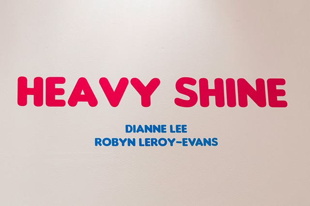 HEAVY SHINE, artists Dianne Lee and Robyn LeRoy-Evans, The Front, New Orleans, 2019