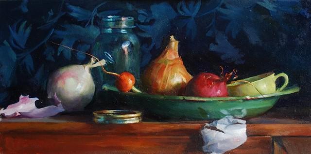 Onion, Radish, and Carrot