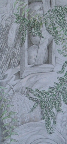 Fern and Pine detail