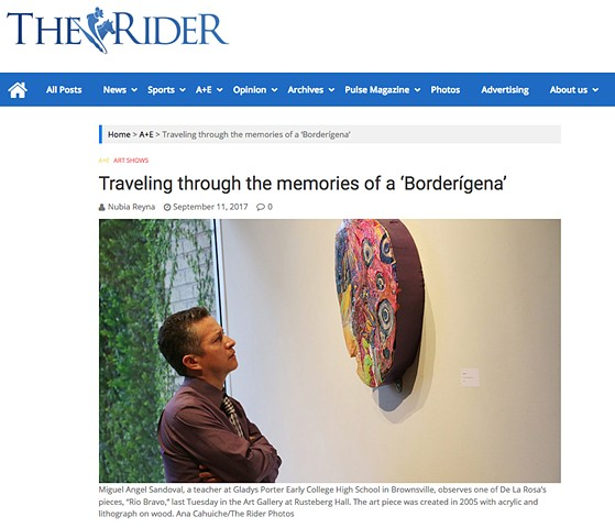 Traveling through the memories of a 'Borderígena'