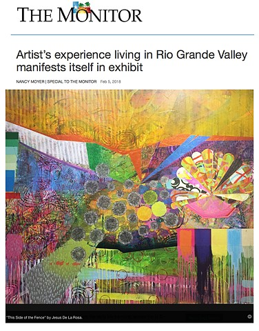 Artist's experience living in Rio Grande Valley manifests itself in exhibit