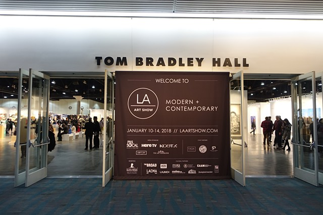 2018 - LA ART SHOW - Modern + Contemporary