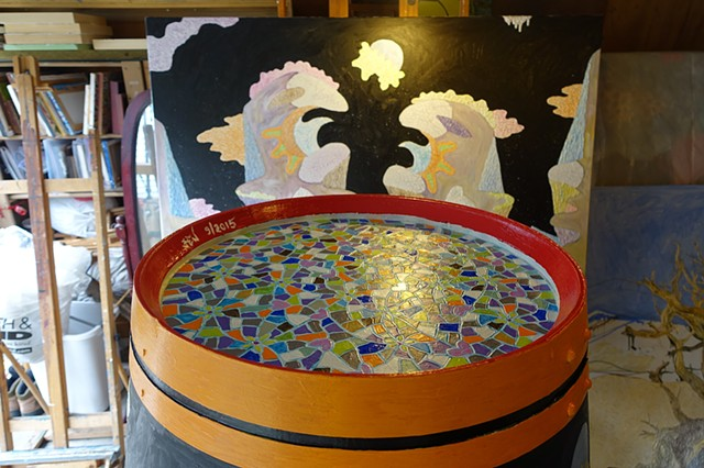 Wine Barrel Art - International BOTART