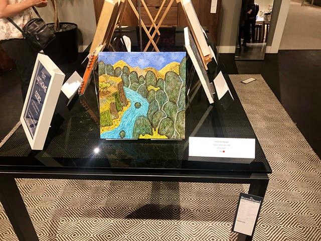2019 -ART & HOME 2019. Room & Board show room. Culver City, CA