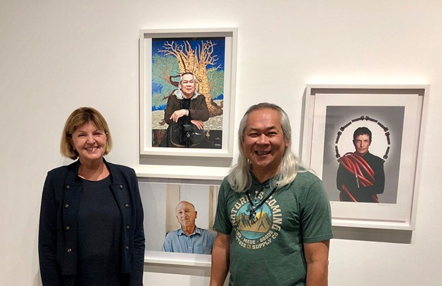 2019 - MADE IN CALIFORNIA: Art + Photographic Portraits of Artists. The Robert and Frances Fullerton Museum of Art (RAFFMA)