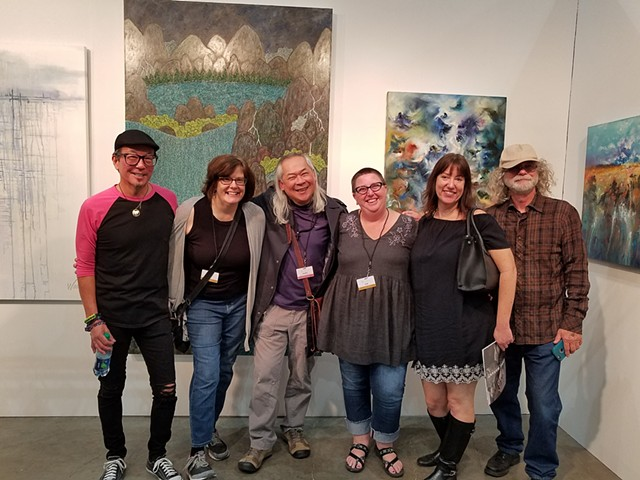 2018 - LA Art Show @sergott contemporary art gallery SCAA