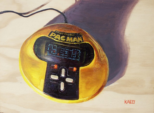 Pacman Handheld Video Game