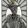 Accordionista Frijolero, (Beaner Accordionist)