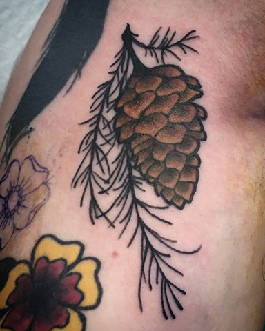 pinecone tattoo strange world tattoo calgary