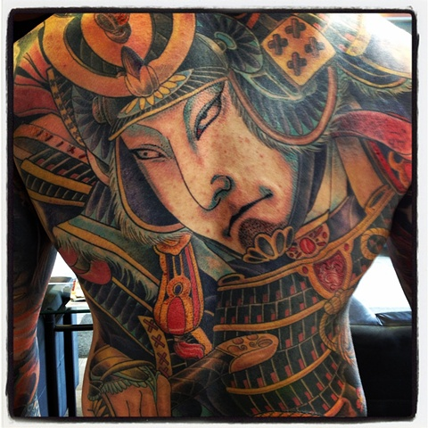 Tattoo of Japanese backpiece