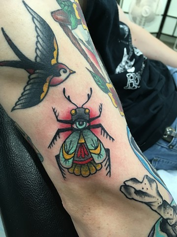 bug tattoo Calgary