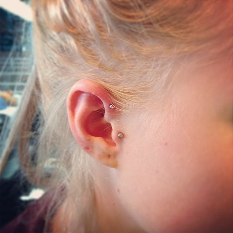 ear piercing at strange world tattoo in calgary