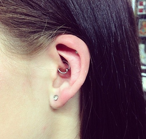 piercing at Strange World Tattoo