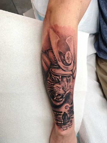 tiger samurai tattoo calgary strange world tattoo