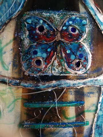 The Last Butterfly (detail)