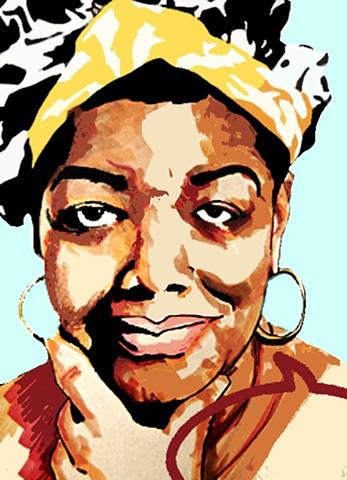 Maya Angelou 1928-2014