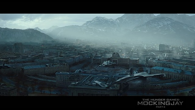 Hunger Games matte painting
