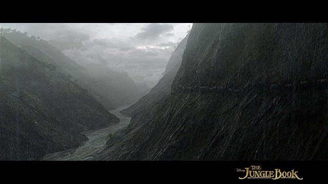 Jungle Book matte painting
