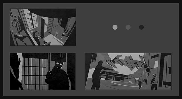 Tonal composition studies