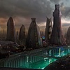 City - concept for a Matte Painting
