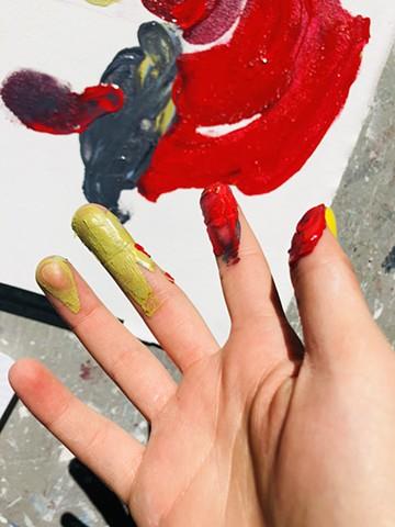 Long Island City, Paint Can Studios, NY, Trauma of Loss, D,B,H.