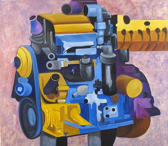 Engine 11 Purple