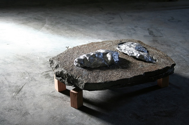 Matthew David Roberts Sculpture Artist Border Strata