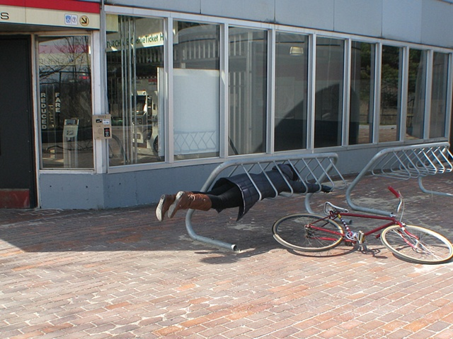 flying bike rack