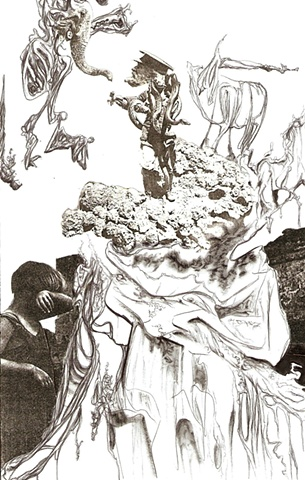 Ink, Collage , Automatic Drawing, Surrealism, Max Ernst, Andre Masson