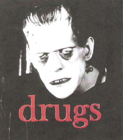 Boris Karloff, drugs, drug addiction, horror movie