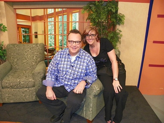 Hair and Makeup for Tom Arnold by Tanya Deemer