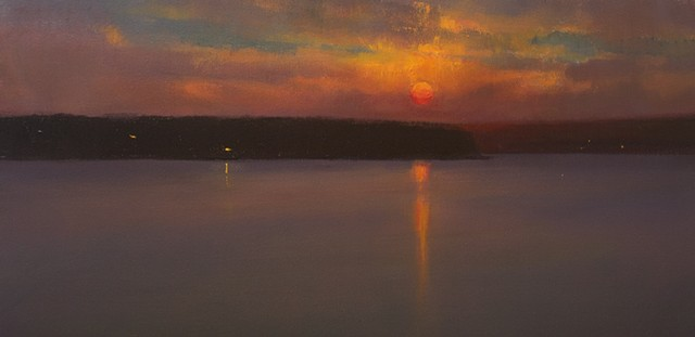 Devin Michael Roberts Art Painting Sunset