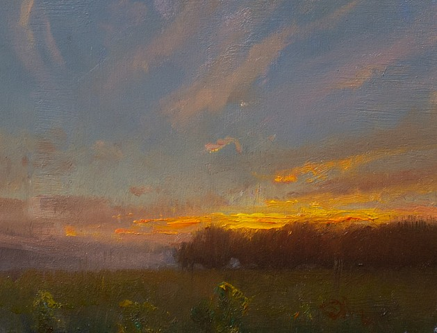 Devin Roberts Art Painting Sale Sunset