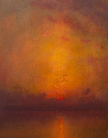 Devin Michael Roberts Art Paintings Sunset