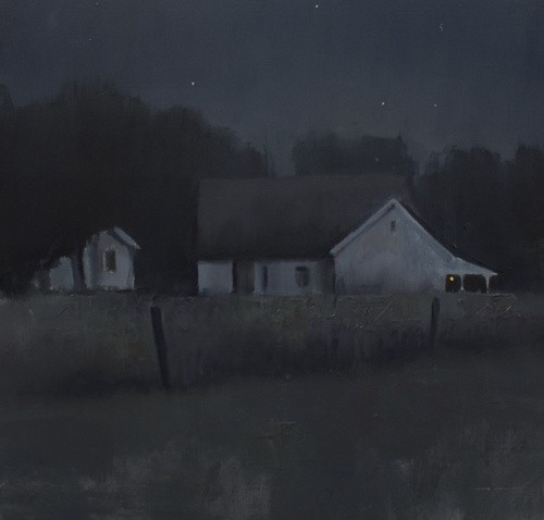 Devin Roberts Art Nocturne Oil painting painter