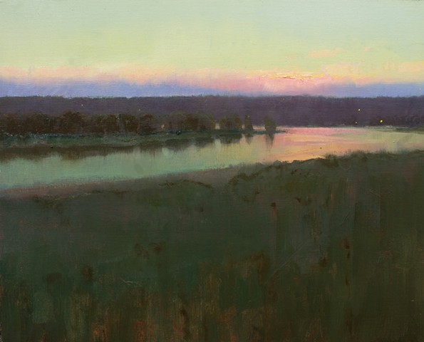 Devin Michael Roberts Artist Paintings Art Sunset