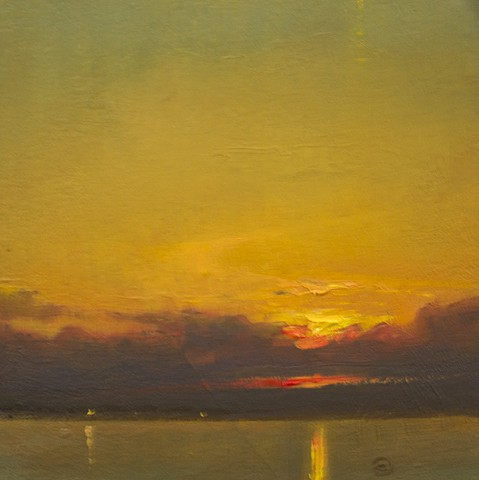 Devin Michael Roberts Art Paintings Artist sunset oil painting