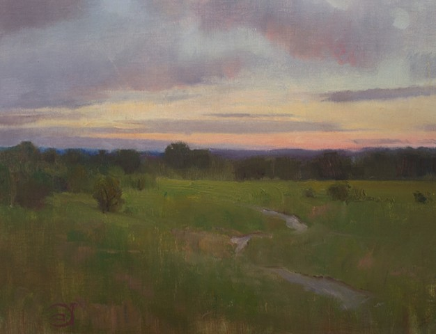 Devin Roberts Plein Air Painting Artist Art Paintings