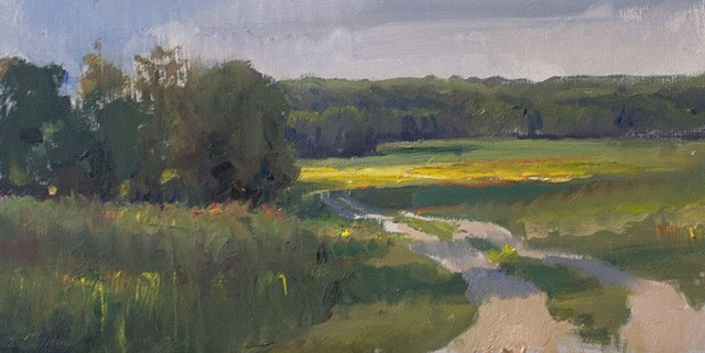 Devin Michael Roberts Art Paintings En Plein Air