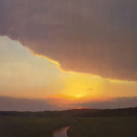Devin Michael Roberts Art Artist Paintings Sunset Devin Roberts