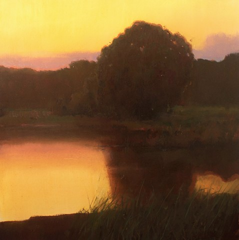 Devin Michael Roberts Paintings Art Sunset Landscape