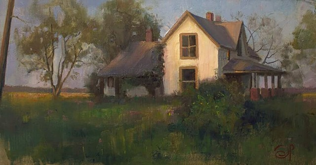 Devin Roberts art paintings plein air