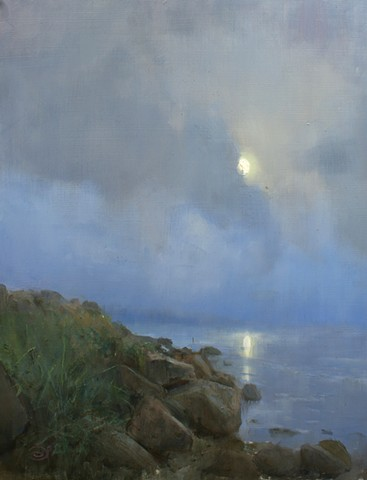 Devin Michael Roberts Paintings Art Artist Seascape