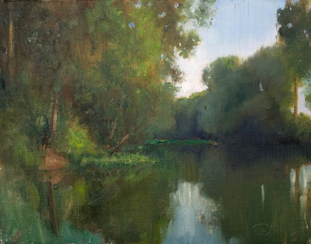 Devin Michael Roberts Art Paintings Plein Air Magazine En